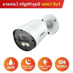 SANNCE 1080P HD Full Color Security Warm Light Camera for Se