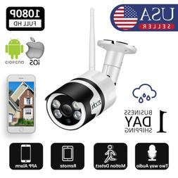 1920P Outdoor Wireless WIFI Home Security Camera System 2Way