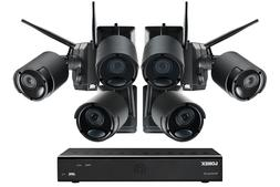 1080p Wire Free Camera System, 2 Battery Powered Black Outdo