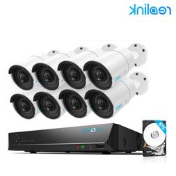 PoE Wired Security IP Camera System 4MP 16CH NVR 3TB HDD 8x