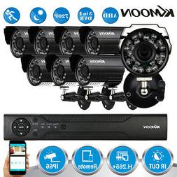 KKmoon 16CH H.265+ 1080P CCTV NVR System 720P Home Outdoor S