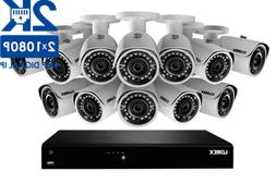 Lorex 2K IP Security Camera System with 16-CH NVR and 12 Out