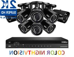 LOREX 2K IP Security Camera System with 16 Channel NVR and 8