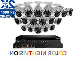 LOREX 2K IP Security Camera System with 32-Channel NVR & 20