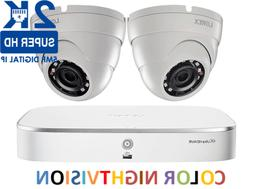 LOREX 2K IP Security Camera System with 8 Channel NVR and Tw