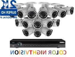 LOREX 2K IP Security Camera System with16-Channel NVR and 16