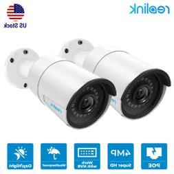 2pcs 4MP Add-On Camera for Reolink Security camera System PO