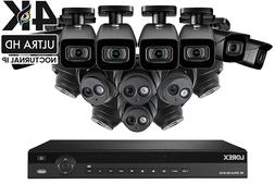 4K UHD IP NVR Security Camera System with 3TB 16 Channel NVR