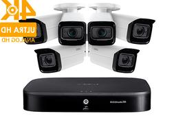 4K UHD Security System with Six 4K Camera, 8 Channel and 2TB