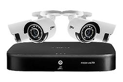 4K Ultra HD 8-Channel Security System with Four 4K  Cameras,