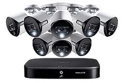 4K Ultra HD 8-Channel Security System with 8 Active Deterren