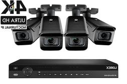4K Ultra HD Security Camera System, 16-Channel, 4 Cameras, 3