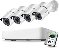 5mp security cameras system 8 channel 5