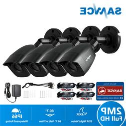 SANNCE Full 1080P Outdoor Camera IR Day/Night Security Syste