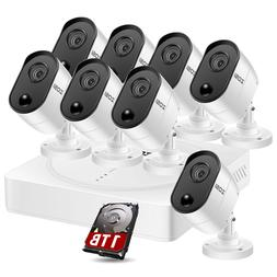 ZOSI 1080P HD USB Webcam Web Camera with Microphone for PC D