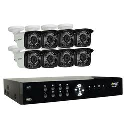 Aero HD 1080p 16 Ch. Home Surveillance System with 8 Bullet
