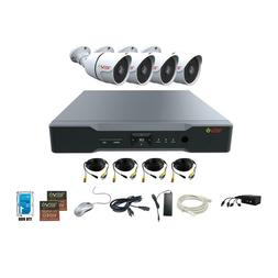 aero hd 1080p 4 channel video security