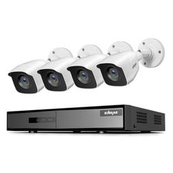 SANNCE 4CH DVR Outdoor 1080P CCTV IR Security Camera System