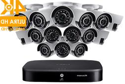 Lorex HD Security Camera System, 16 4K Cameras and 16 Channe