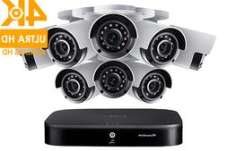 Lorex HD Security Camera System, 8 4K Cameras and 8 Channel,