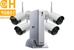 Lorex HD Security Camera System with 1080p Cameras 130ft Nig