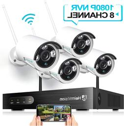 HeimVision HM241 1080P Wireless Security Camera System 8CH N