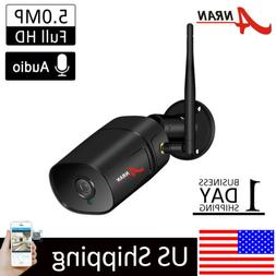 ANRAN Home Security Camera System Wireless 2Way Audio Outdoo