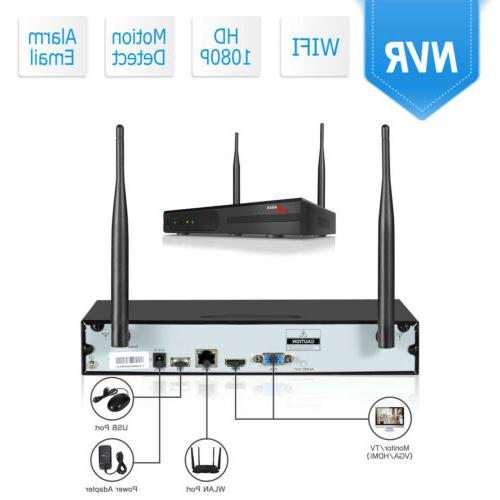 ANRAN Security Wireless 1080P 8CH Outdoor