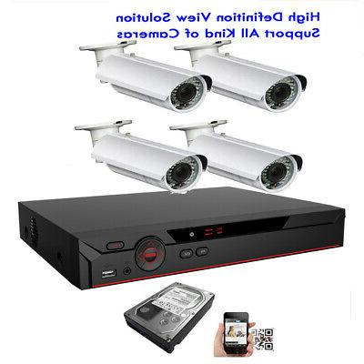 4channel 6mp all in 1 network dvr