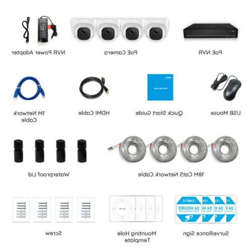 Reolink POE Security Kit 2TB HDD RLK8-520D4-5MP