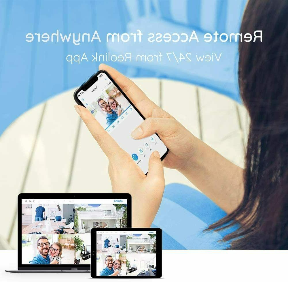 Reolink 8CH Home Security 4pcs 5MP