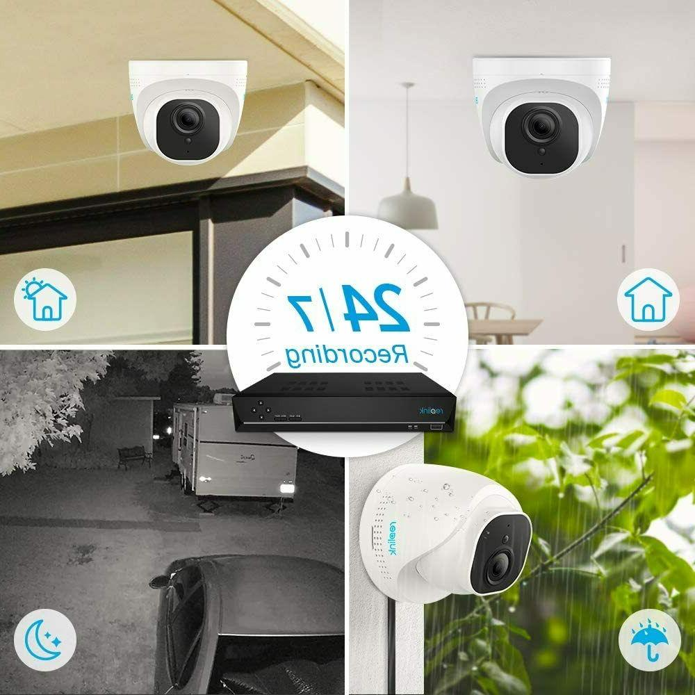Reolink 5MP Home Security 4pcs 5MP Camera