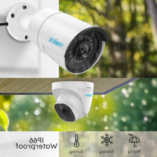 8CH 5MP Security Camera Outdoor Video Reolink RLK8-520B2D2