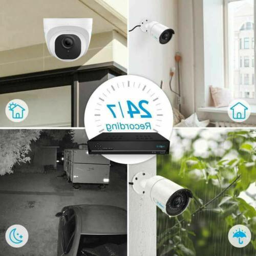 8CH Camera Outdoor Video Reolink