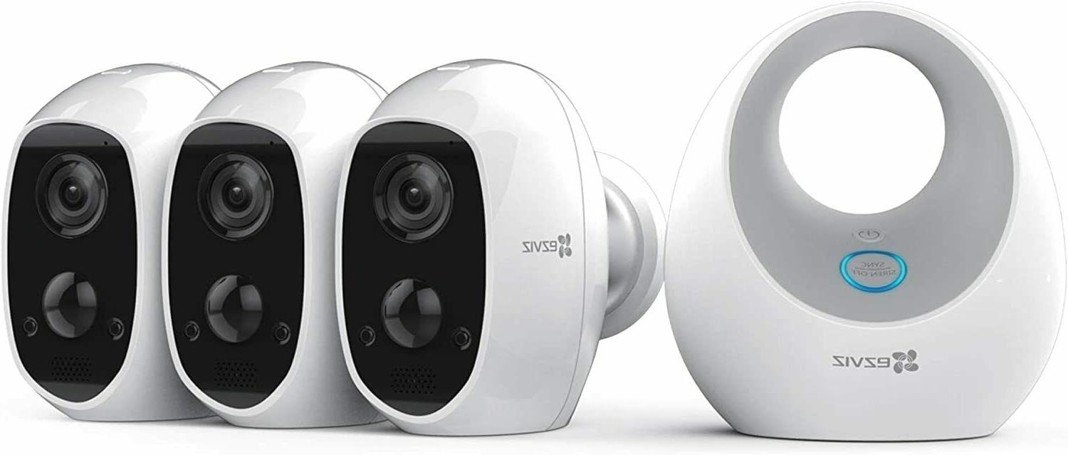 c3a 100 percent wire free 1080p security