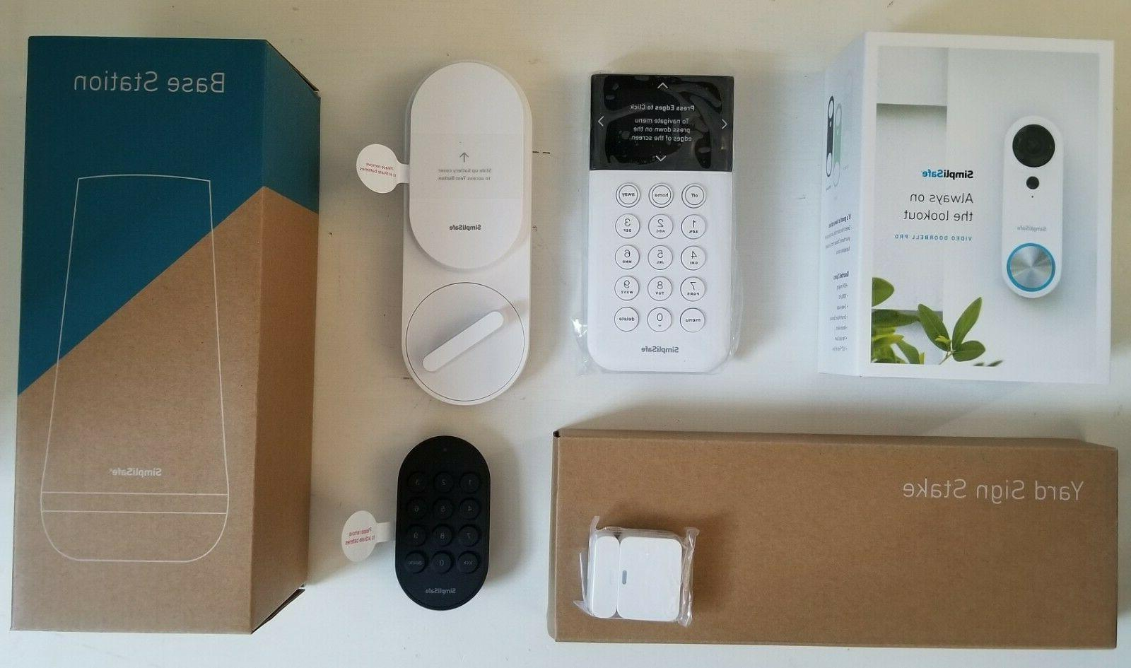 entryway security system kit 1080p hdr video