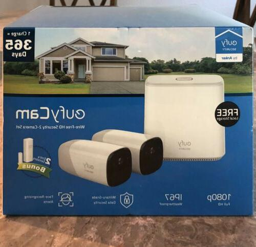 eufy cam wireless hd home security system