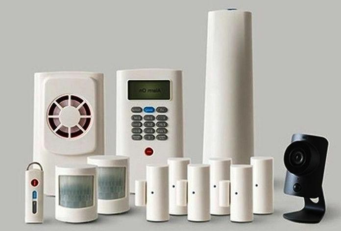home business security system includes camera new
