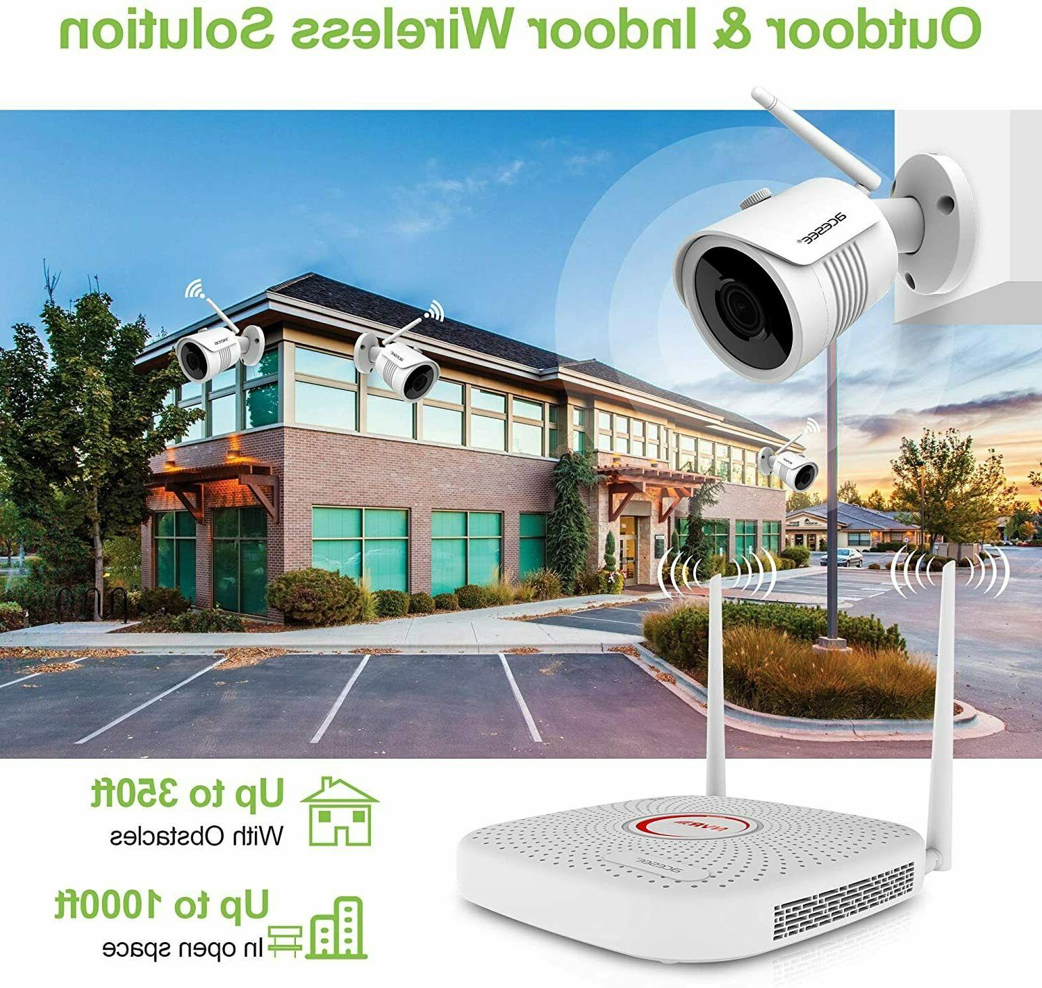 Home Security System 1080P or NVR WD