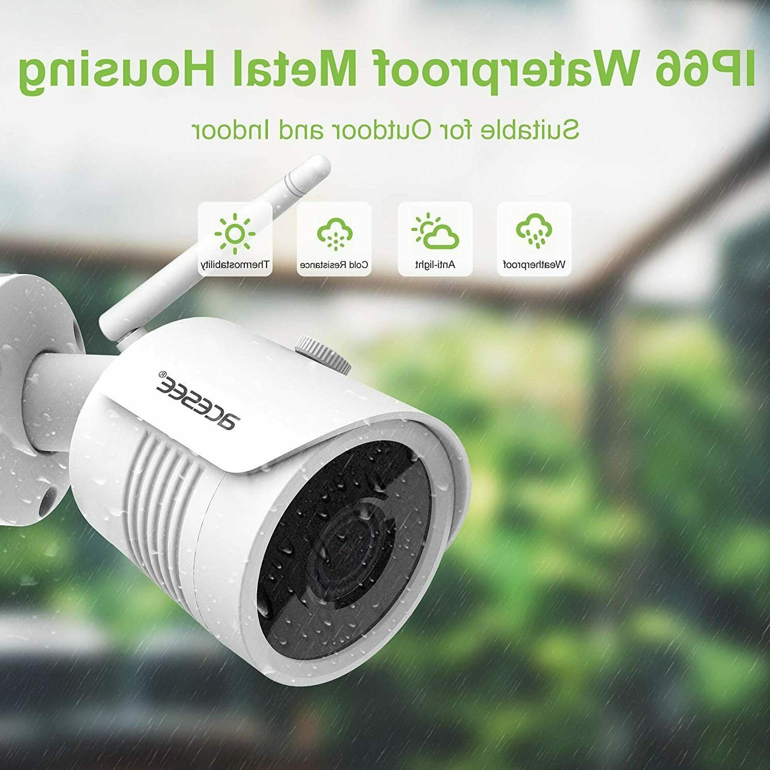 Home Wireless System 1080P or CH WIFI NVR WD