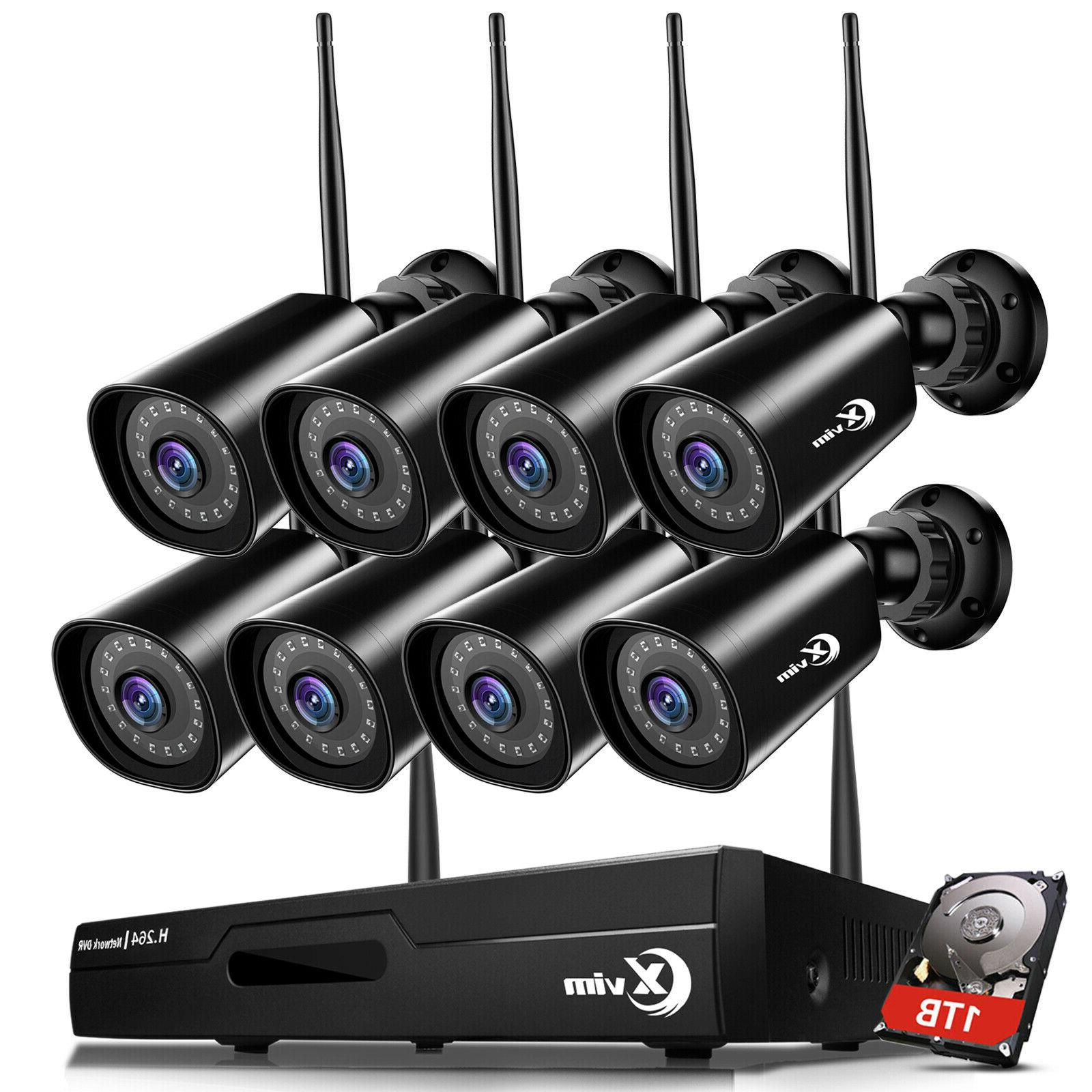 wireless wifi 1080p outdoor security camera system