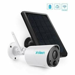 Outdoor Security Camera System Wireless, Solar Battery Power