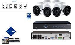 LOREX PoE Security System w/32 Channel 4TB 4K UHD NVR and Au
