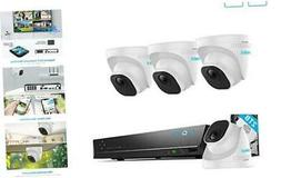 REOLINK 4K Poe Security Camera Systems, 8mp Security Camera