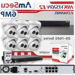 Hikvision Security Camera System 16 CH NVR DS-7616NI-E2/16P
