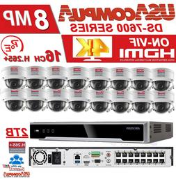 Hikvision Security System Kit 16CH POE Security System 2MP C