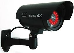 UniquExceptional UDC4black Dummy Fake Security Camera with 3