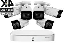 Lorex Ultra HD 8 Channel Security Camera System with 6 x 4K