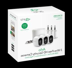 Arlo VMS3330W Security System with 3 HD Cameras - White-Wire