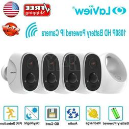 HD 1080P 4 Security Camera System Outdoor Wireless Wifi IP B